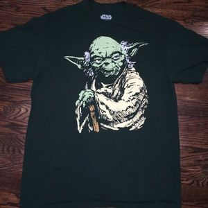 Star Wars yoda T-shirt size l